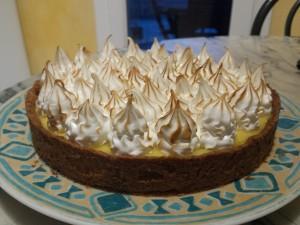 Ma tarte au citron meringuée